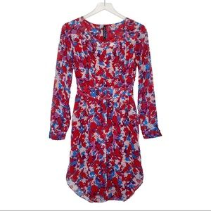 W118 By Walter Baker Printed Button Front Dress